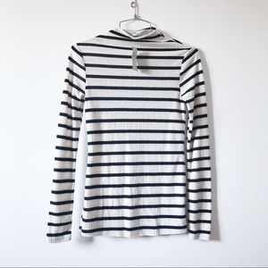 NWT River  Island stripped scoop neck sweater